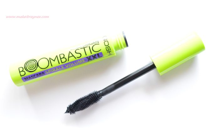 Boombastic XXL Swirl Volume Mascara from GOSH {REVIEW}