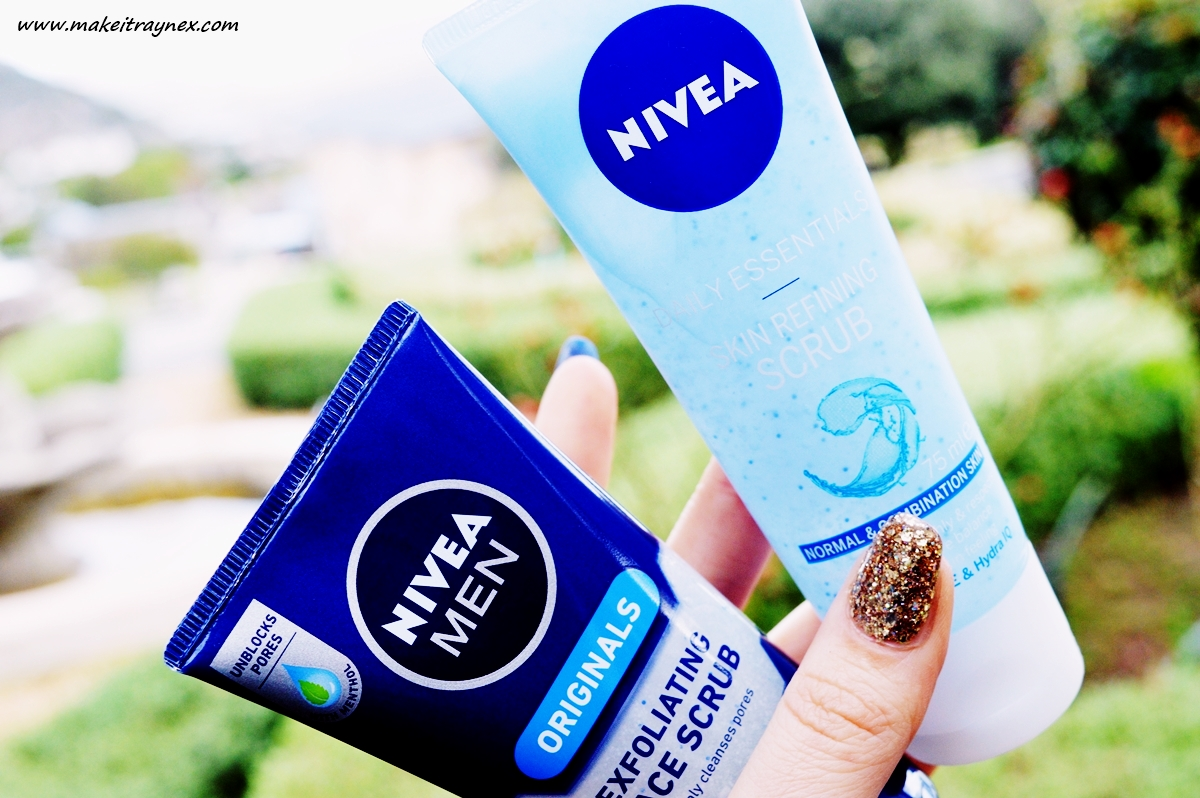 Favourite Nivea Face Scrubs {REVIEW} - Make It Rayne