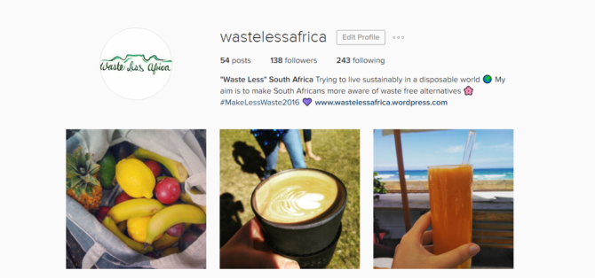 Waste Less Africa… and then my sister started a blog.