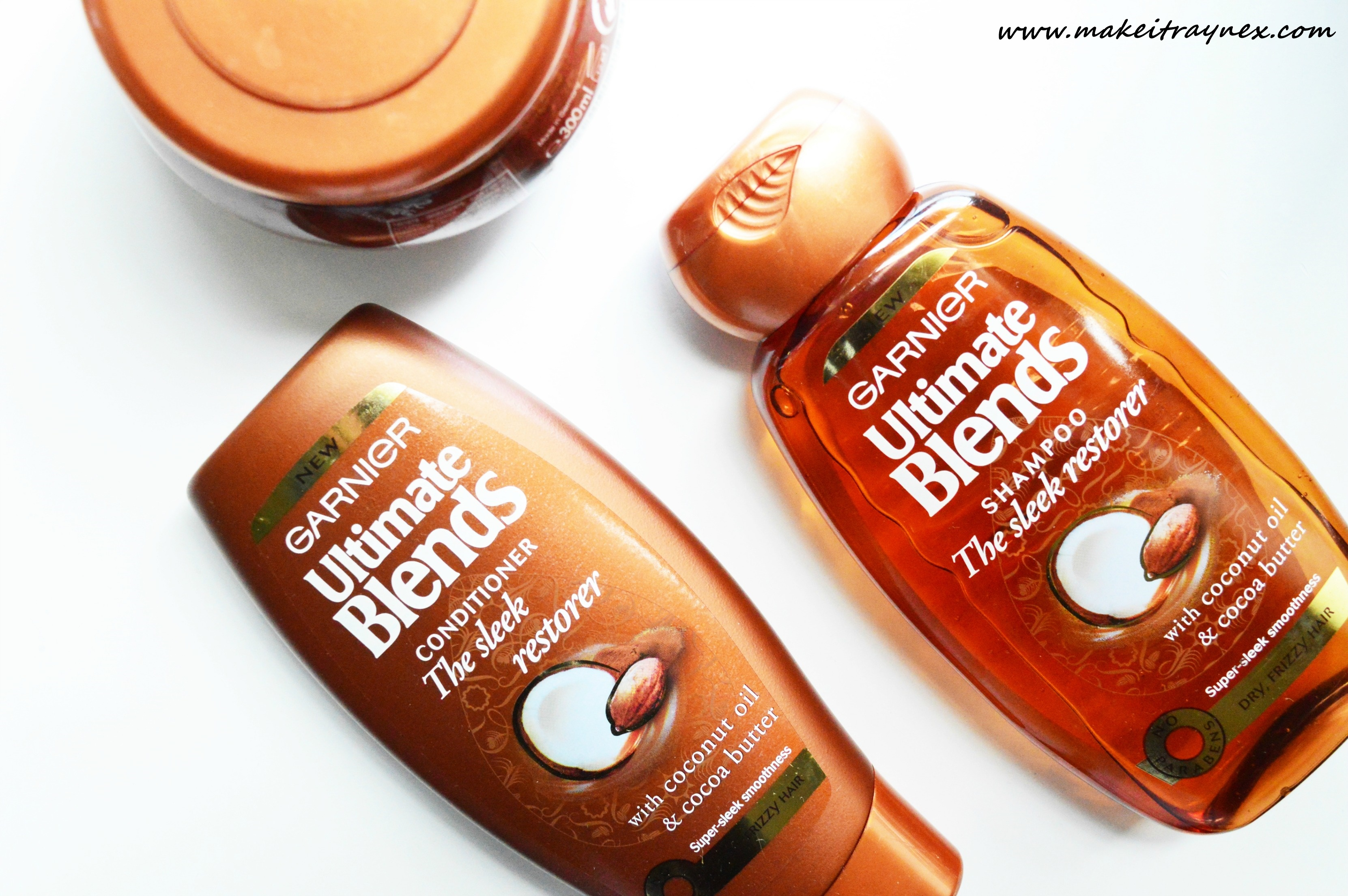 The 'Sleek Restorer' Range from Garnier Ultimate Blends {REVIEW}