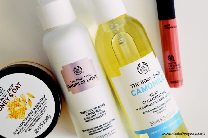 Latest Skincare Haul – The Body Shop {HAUL}