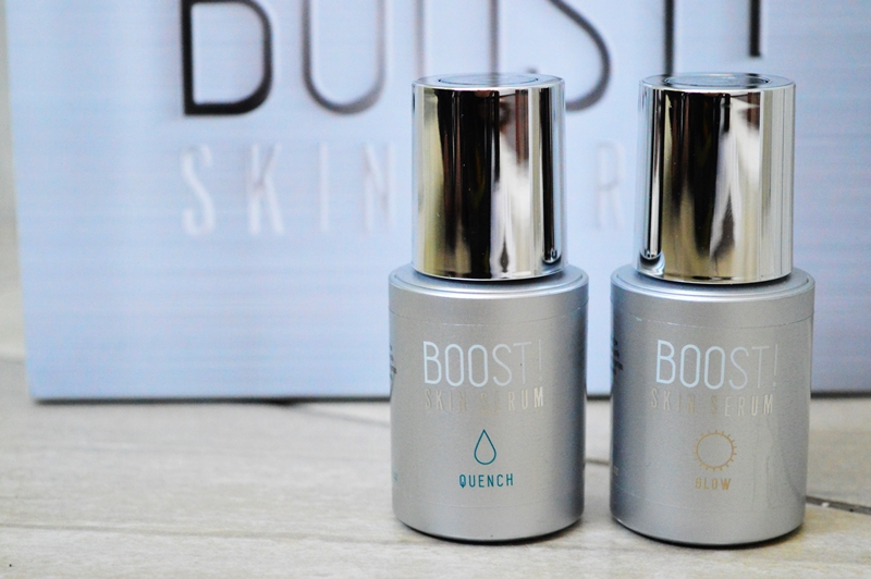 I tried out the brand new BOOST! Skin Serums and I'll definitely be keeping them in my routine {REVIEW}