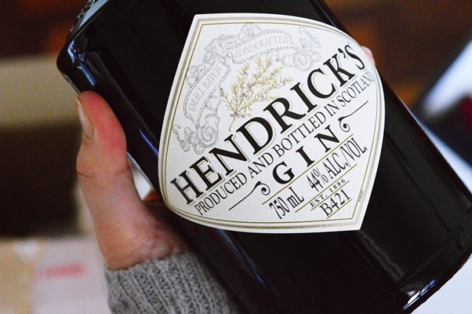You've finished yet another bottle of Hendrick's Gin – now what?? {DIY}