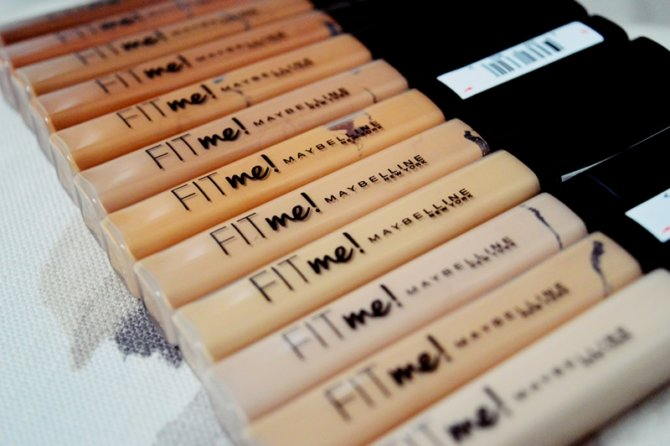 Fit Me Concealers from Maybelline {REVIEW}
