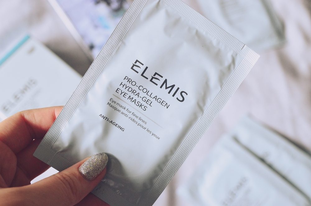 Bye-bye under-eye circles with the Pro-Collagen Hydra-Gel Masks from ELEMIS {SKINCARE}