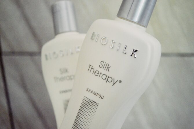 My favourite hair-care system: BioSilk Silk Therapy range {HAIRCARE}